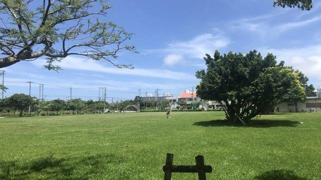 糸満市親水公園広場