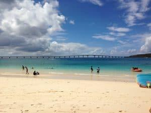 沖縄県宮古島の前浜ビーチ